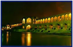 اصفهان در شب